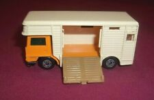 1977 Matchbox Superfast Lesney Horse Box No.40 Vintage Made In England