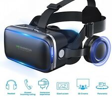 Newest!!3D VR Headset Virtual Reality Glasses SHINECON Movie VR Game Glasses
