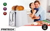GRILLE PAIN TOASTER DOUBLE FENTE EXTRA LARGE 6 PROGRAMMES PRITECH