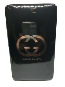 GUCCI Guilty Black Cosmetic Makeup Case - Travel Pouch Razor-Jewelry Storage New