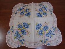 VINTAGE HANDKERCHIEF HANKIE MOTHER HANKIE UNIQUE FREE SHIPPING