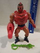 He-Man Masters / Universe MOTU CLAWFUL Loose Complete Stands & Holds