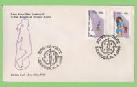 Cyprus (Turkish) 1989 Europa Children's Games set on Post Office First Day Cover