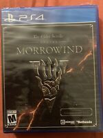 The Elder Scrolls Online Morrowind PS4 BRAND NEW. FREE SHIPPING