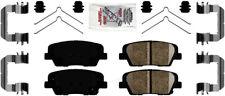 Disc Brake Pad Set-AmeriPlatinum Ceramic with Hardware Rear Autopartsource
