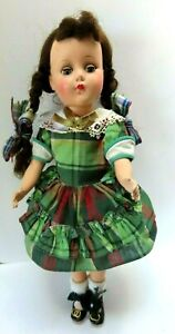 "Vintage Arranbee R & B Hard Plastic Doll All Original Clothes 14"""