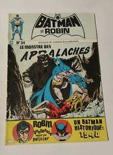 Batman et robin # 34 edition interpresse