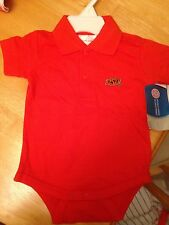 New Oklahoma State Cowboys Newborn Polo Romper 0-3 Months