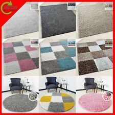 LARGE EXTRA LARGE SMALL SHAGGY RUGS MODERN FLUFFY RUNNER for LIVING ROOM BEDROOM