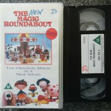 THE NEW MAGIC ROUNDABOUT - VHS VIDEO - CHANNEL 5 - KIDS / CHILDRENS