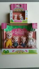 Sylvanian Families Calico Critters Pigglywink Pigs retired Rare released 2004