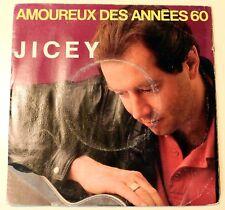 Jicey - Amoureux des années 60 - 1990 Single JC 9001 - Rare French Pop (A)