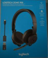 Logitech Zone 900 Wireless Bluetooth Noise Canceling Over-Ear Headset BRAND NEW