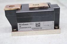 Infineon DZ600N12K 1200V 1.2kV DZ600 Rectifier Module Trigger 40mA Output 735A