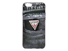 Étuis, housses et coques noirs GUESS en silicone, caoutchouc, gel pour téléphone mobile et assistant personnel (PDA)
