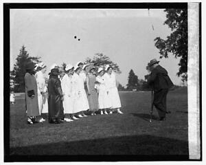 Mrs. Coolidge at Garden party at Mt. Alto,5/27/25,Grace Goodhue,First Lady 9836