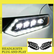 For Nissan Rogue LED Head Lamps All LED Source With DRL Dynamic Turn 2014-2016