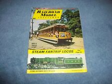 October 1969 Railroad Model Craftsman Vintage Train Magazine Steam Fantrip Locos