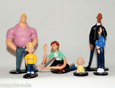 Disney THE INCREDIBLES Family Figure Set Toy Frozone Dash Violet Jack Jack