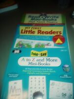 A to Z & More Mini Books , My First Read & Write Mini Books 3 Activity Books NEW