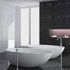 EGG CURVE Solid Stone White Freestanding Bath tub 1780 x 980 x 510 Matte matt