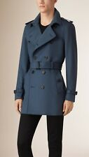 Trench Burberry Kensington BNWT RRP $1995 Stone Blue US 48 - UK 58