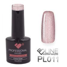 PL011 VB Line Platinum Light Rose Gold Metallic - gel nail polish - gel polish
