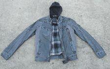 Projek Raw Dark Black Jacket Men's Size P/S Coat Designer