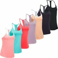 UNDER ARMOUR LADIES UA FLY BY RACERBACK SPORTS FITNESS TANK TOP 50% OFF