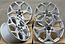 "18"" ALLOY WHEELS FOX VIPER SILVER FIT PEUGEOT BOXER VAN 130 EURO 5 ALL MODELS"