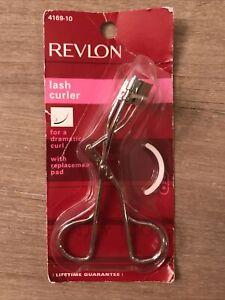 Revlon Professional Eyelash Lash Curler 4169-10 dramatic curl & Replacement Pad