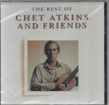 BEST OF CHET ATKINS AND FRIENDS Lenny Breau Jerry Reed Les Paul RARE NEW OOP CD