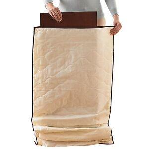 Wooden Extending Table Leaf Quilted Protective Storage Bag Cover Padded Cotton