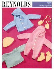 Easy Baby Wardrobe Bulky Signature Reynolds Knitting Pattern 82138 Norah Gaughan