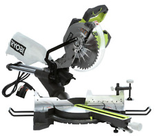 Ryobi 15-Amp 10 in. Sliding Miter Saw with Laser, Saw Dust Bag, Light Weight NEW