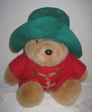 "Paddington Bear 16"" Eden Toys Darkest Peru Stuff Doll Plush Toy Rare Vintage"