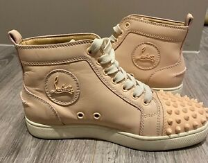 Christian louboutin sneakers size 36.5 pre owned very good condition
