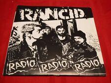 "Rancid Radio Radio Radio 1993 7"" 45 RPM EP Dope Sick Just Felling Gunna Die VG+"