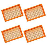 4x Original Flachfilter für KÄRCHER wie 2.863-005.0 MV 4 5 6 P WD4 Premium SET