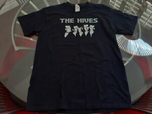THE HIVES BAND / CONCERT  MUSIC SHIRT Mens Size L  LARGE