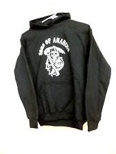 NEW W/O TAGS YOUTH LARGE ROCKABILIA SONS OF ANARCHY REAPER HOODED SWEATSHIRT