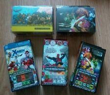 Dice Masters Lot 3x Starter Set and 2x Deck Box Spider-man,X-men,War of Light