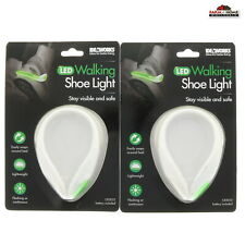 LED Shoe Clip Light Night Safety Running Visibility ~ New