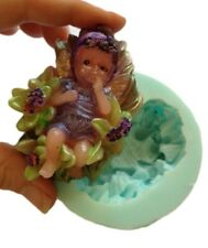 FAIRY BABY Silicone Soap/Candle Mould Mold, Plaster, ResinMelt and Pour Soap