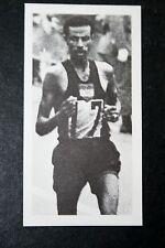 Bikila etíope maratón Runner Foto Tarjeta en muy buena condición