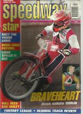 SPEEDWAY STAR MAGAZINE MAR 21 1998 YOUNG LIONS DICKO LOUIS WILKIE SALUTE BEES