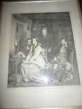 ORIGINAL 1877 Duncan Gray Etching by D. Wilkie and Engraved by E. Engleheart
