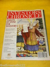 INVESTORS CHRONICLE - TABLETS OF STONE - MARCH 15 1996