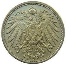 (B75) - Deutschland Germany - 10 Pfennig 1912 E - Reichsadler - UNC - KM# 12