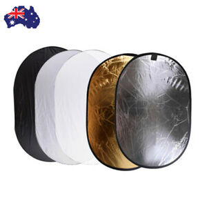 AU 5In1 Photography Studio Light Reflector Collapsible 100x150cm Five color +Bag